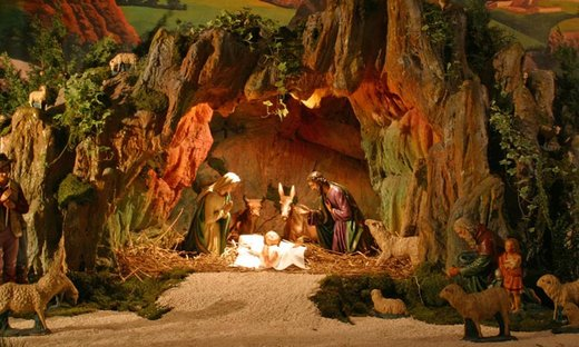 Saint Francis and the First Christmas Crèche