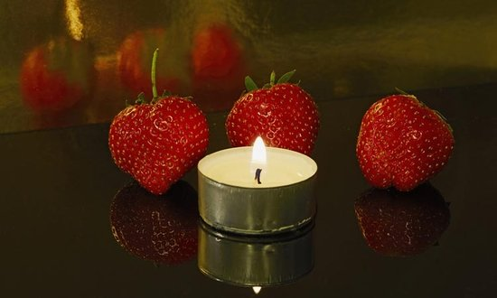 Strawberries, Candles, and Resolutions